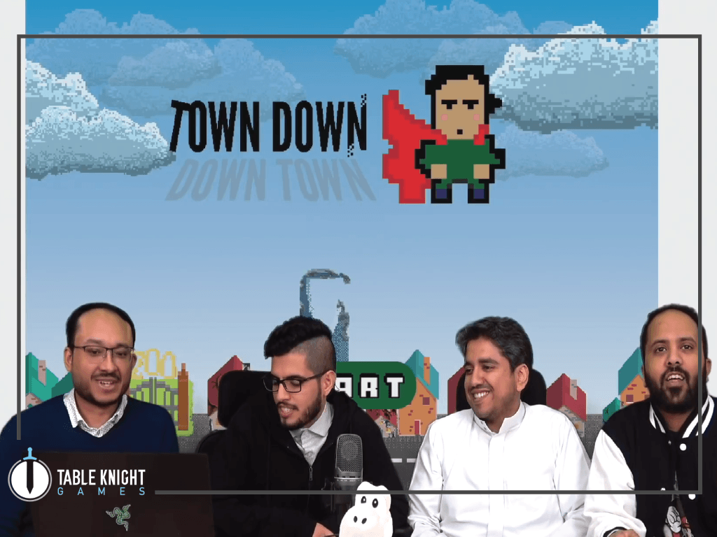 "An interview with Alaab where we talked about our global game jam game ""Town Down"""