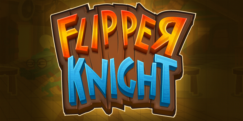 Flipper Knight Logo Table Flipping Game