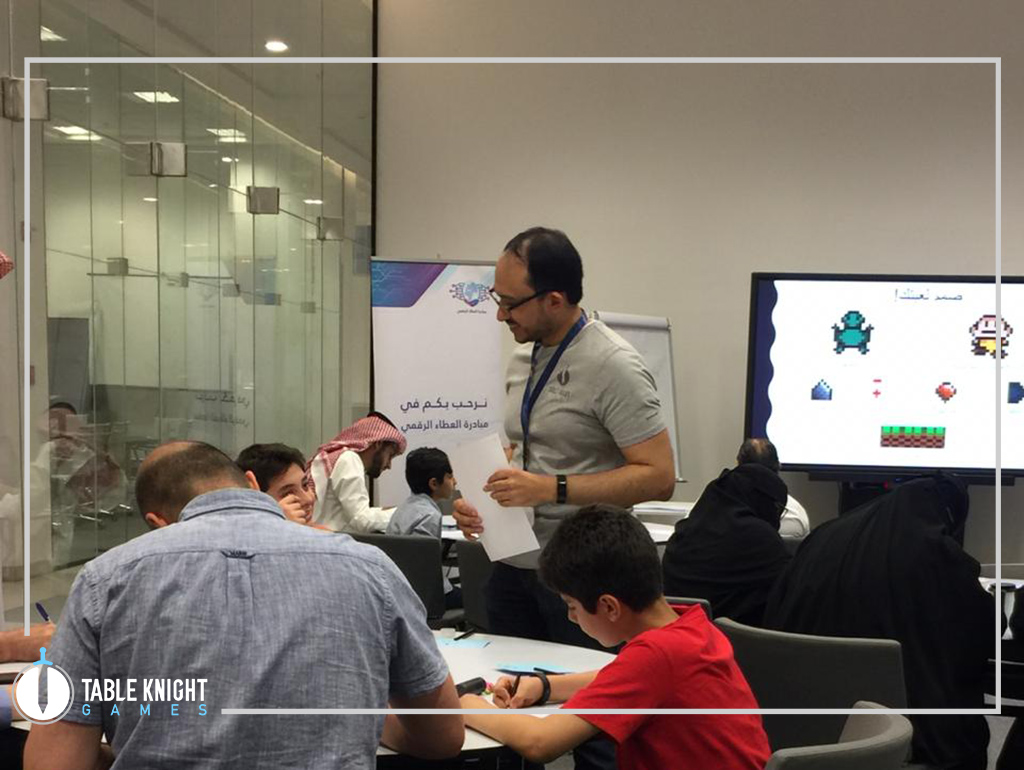 "We held a workshop to teach people how to make their first game. It was held in ministry of communication as a part of the ""Atta"" event"