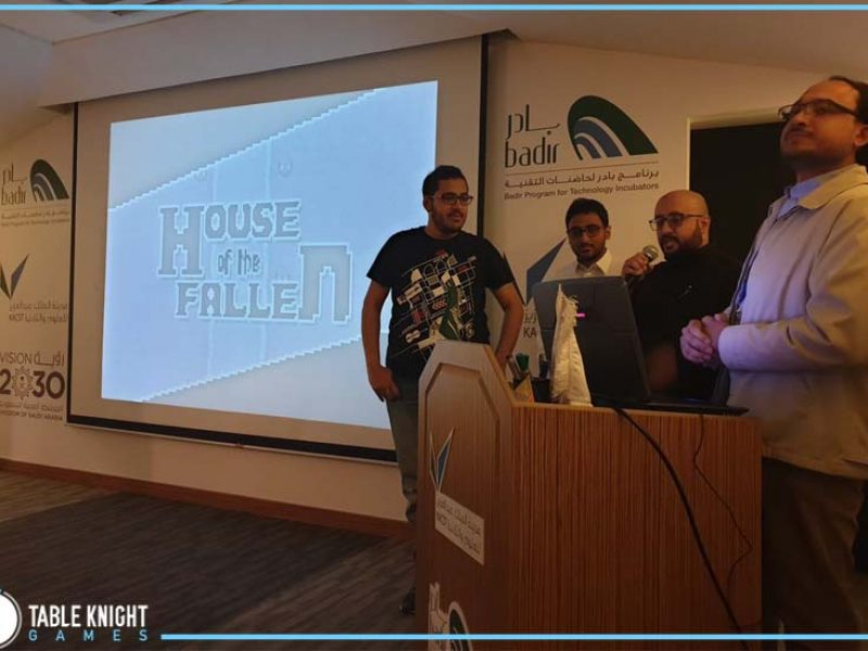 """Presenting our """"House of the Fallen"""" in Global Game Jam 2019 game in Badir"""