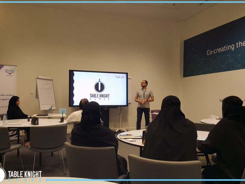 """We held a workshop to teach people how to make their first game. It was held in ministry of communication as a part of the """"Atta"""" event"""