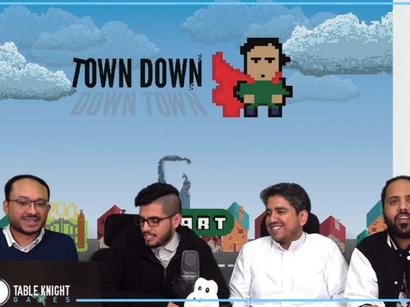 """An interview with Alaab where we talked about our global game jam game """"Town Down"""""""